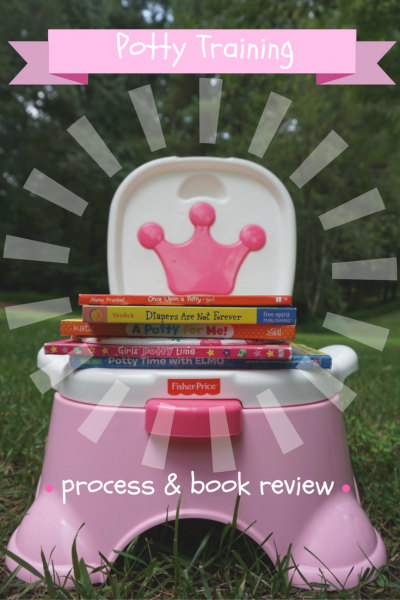 Potty Training Process & Book Review -- what worked for our 2 1/2 year old!