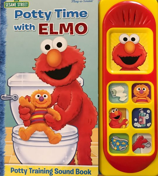 Potty Time with Elmo (Play-A-Sound Book)