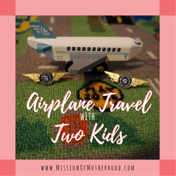 airplane travel with two kids