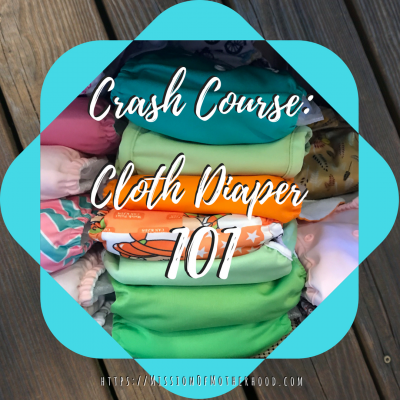 crash course: cloth diaper 101
