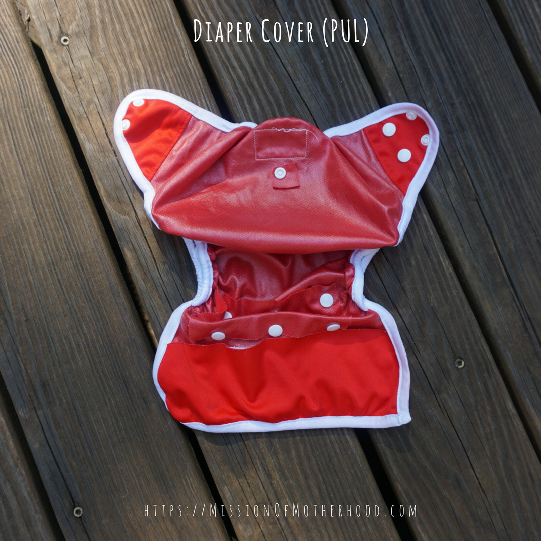 cloth diaper cover PUL