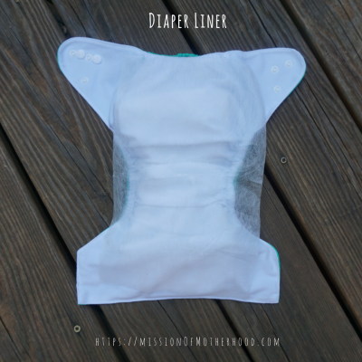 disposable cloth diaper liner