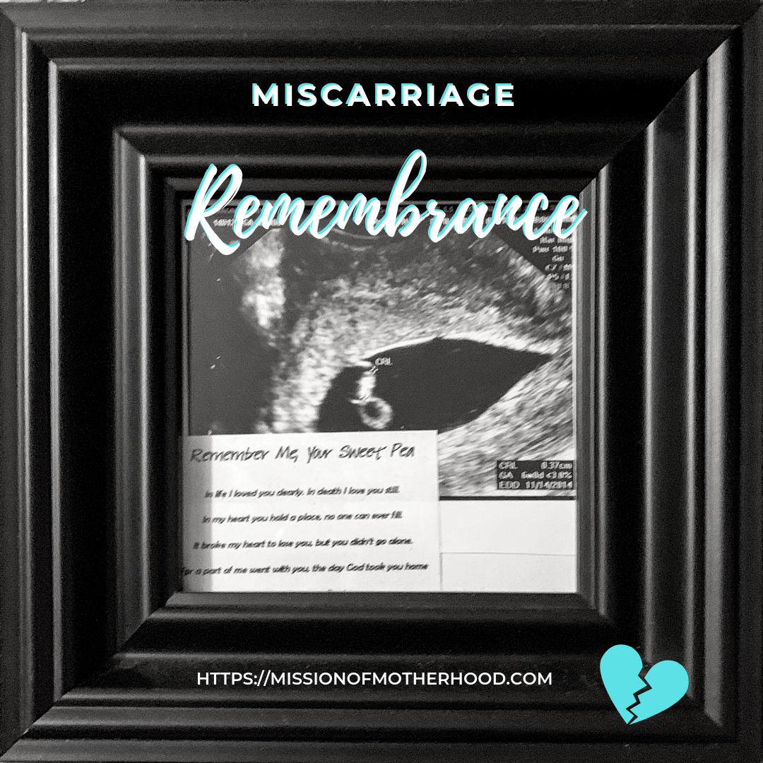 Miscarriage Remembrance